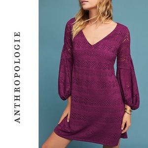 Anthropologie Laila Lace Dress